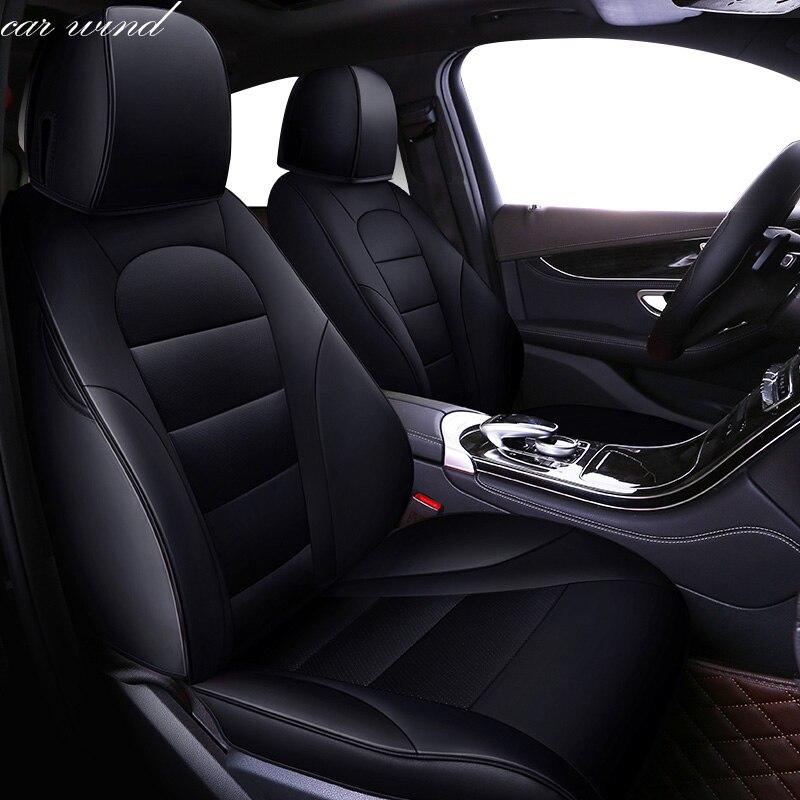 Автомобиль ветер авто автомобилей из воловьей кожи кожаный чехол автокресла для Mazda 2 3 5 6 CX 5 CX 4 CX 7 Axela Atenza автомобильные Аксессуары Укладка