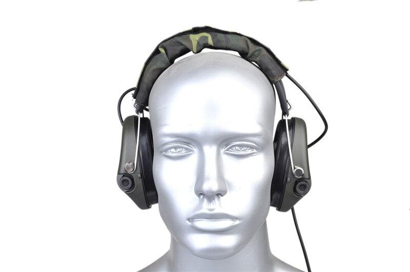 Z-tático airsoft sordin fone de ouvido para