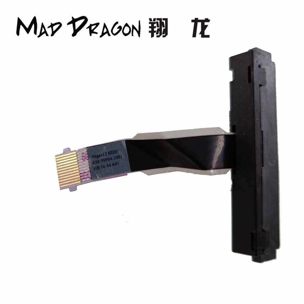 NUOVO originale HDD Connettore del Cavo Della Flessione SATA Hard Drive SSD Adattatore cavo Per Dell Inspiron 15U 3558 3559 V3567 3568 450.09P04.1001