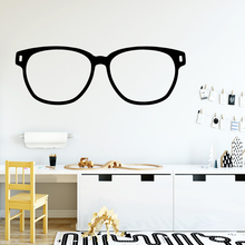Diy glasses Home Decorations Pvc Decal Wall Decals Decoration Accessories Bedroom Stickers