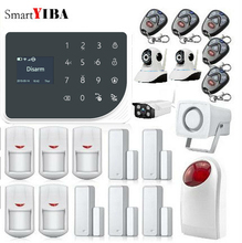 SmartYIBA Android IOS App Wireless GSM Home Alarm System SIM Smart Home Burglar Security wifi IP HD camera Alarm System