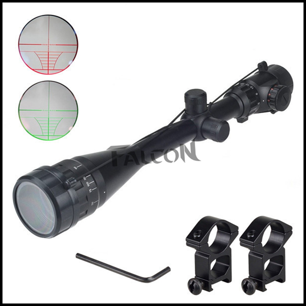 6-24X50 Green Red Dot Illuminated Tactical Riflescope Reticle Optical Sight Scope for Riflescopes Hunting tactical qd riflescope 3 9x42eg laser sight hunting rifle scope red green dot illuminated telescopic sight riflescopes