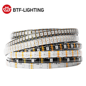 1m/5m SK9822 RGB Led Strip (Similar APA102) Fast DATA & CLOCK 30/60/144 leds/pixels/m Individual Addressable IP30/65/67 DC5V