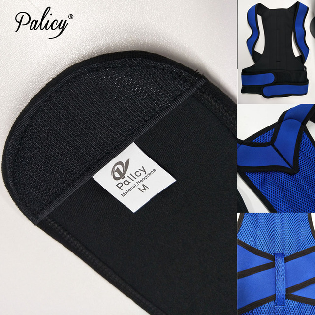 Palicy Neoprene Shapewear For Men Bodysuit Corset Male Back Lumbar Sauna Suit Brace Strap Vest Belt Cincher Posture Corrector 5