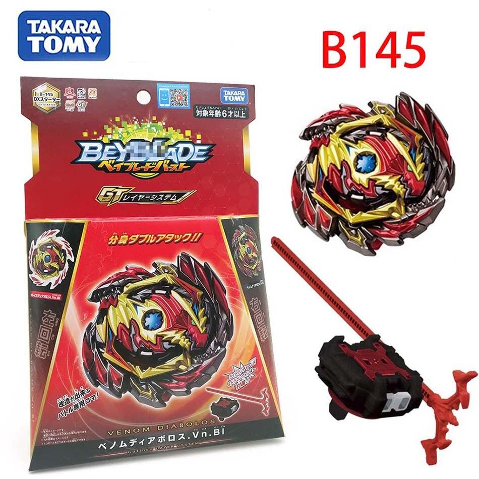 TAKARA TOMY Beyblade Burst B-145 DX Starter Benome Diabolos Bl Vn