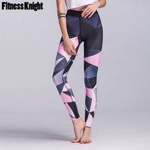цены на Yoga Pants High Waist Women Fitness Yoga leggings Print Sport Pants Female Sport Leggings Workout Running Pants Sportswear Women  в интернет-магазинах