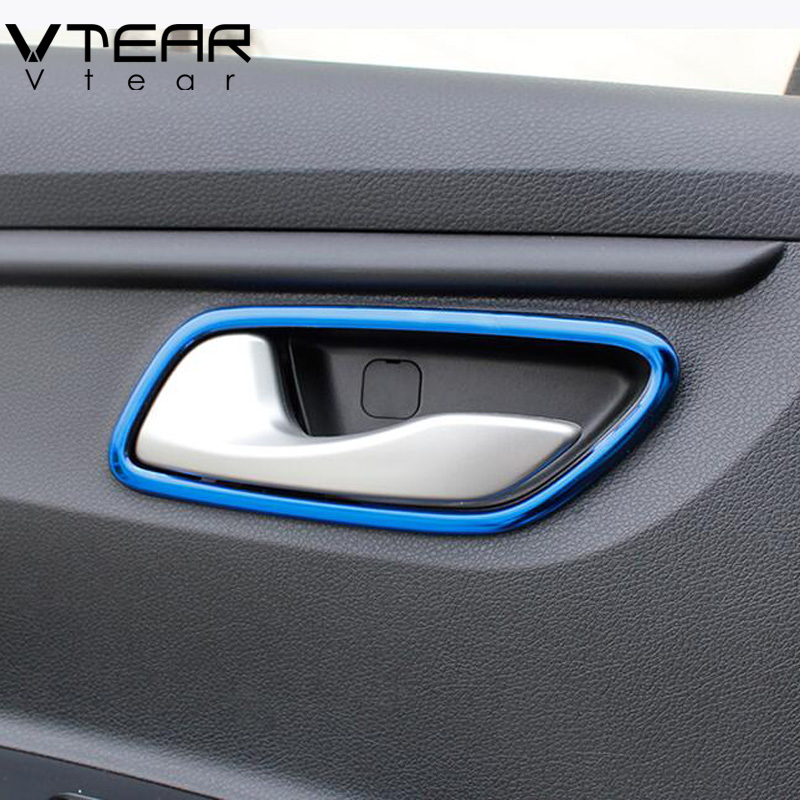 2017 Kia Rio Interior: Vtear For Kia Rio 4 Inner Door Pull Cover Interior Bowl