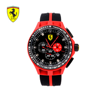 Ferrari Chronograph Sport Mens Watches Top Brand Luxury