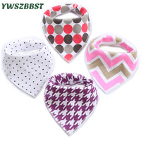 New Baby Girl Bibs Infant Saliva Cloths Baby Burp Cloths Kids Triangle Scarf for Boys Cotton Bibs Baby Clothes Accessories