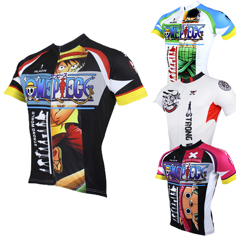 462bb9d16 Paladin OnePiece Luffy Chopper Ace Zoro Nami cycling jersey ropa ciclismo  cycling clothing bike jersey cycling clothes china-in Cycling Jerseys from  Sports ...
