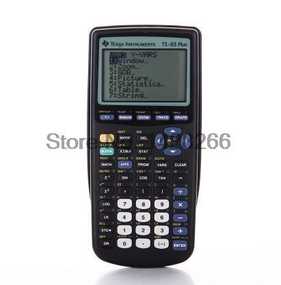 2016 Техас Инструменты Новый TI-83 плюс графический калькулятор распродажа 10 светодиодов ручной калькулятор calculatrice ...