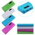 2016 Nuevo 5 V 2A USB 18650 Banco de la Energía Caja de Batería Cargador Para iphone6 Nota4 jun15