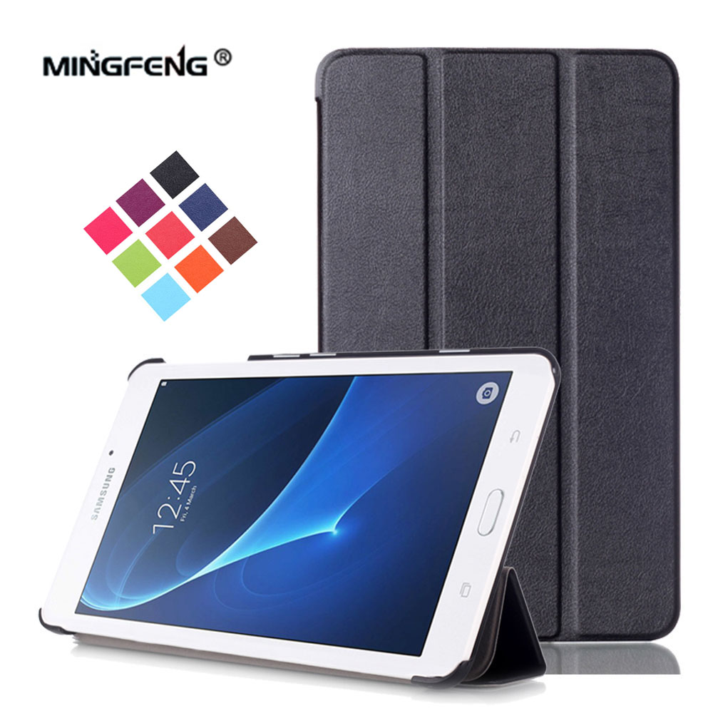SM-T280 for Samsung Galaxy Tab A 7.0 2016 SM-T285 Case Tri-folding PU Leather Case for Samsung Tab A6 7.0 T280 T285+Stylus Pen case sleeve for samsung galaxy tab a a6 7 0 t280 t285 sm t280 sm t285 7inch tablet pc protective cover leather pu pouch cases