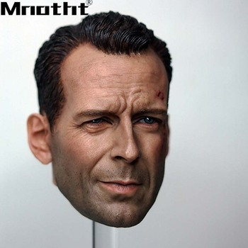 1/6 Scale Old Bruce Willis Head Sculpt War damage Edition Die Hard 12in Action Figure Toys m5 Collection DIY Hobbies