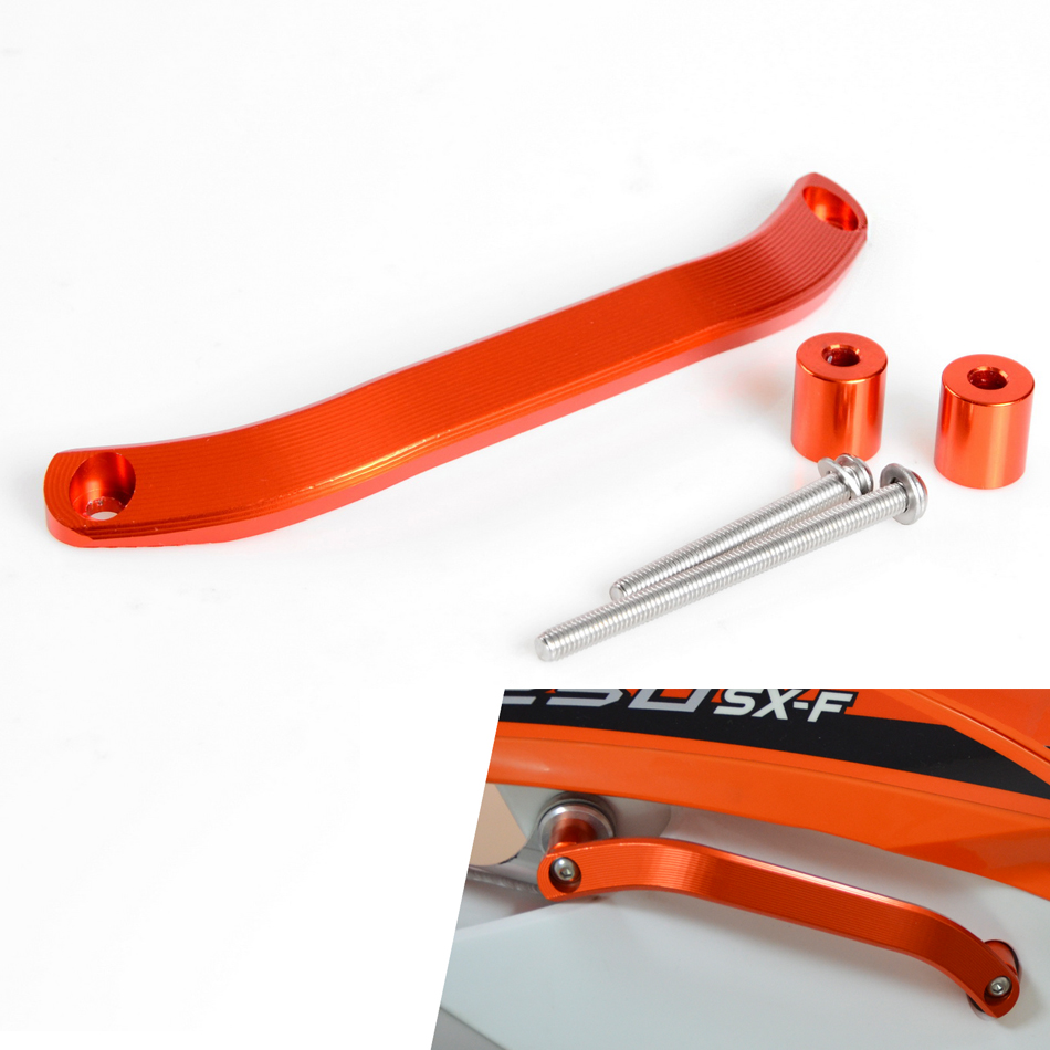 NICECNC Rear Lift Grab Handle For KTM 125 200 250 300 350 450 500 EXC EXC-F Six Days SX SX-F SXF XC XC-F XCF XCW XCF-W SMR 2016 0584 new team graphics with matching backgrounds for ktm 125 200 250 300 450 500 exc xc w xcf w six days 2014 2015 2016