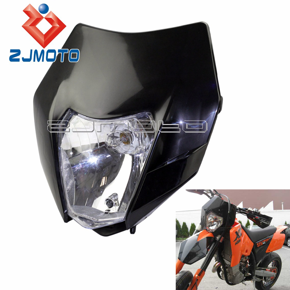 Universal Headlight For KTM EXC EXCF XCF XCW SX SXF SMR Enduro Motorcycle Headlamp Dirt Bike Motocross Supermoto