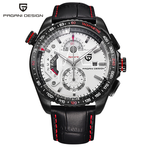 Image 3 - PAGANI DESIGN Mens Watches Sport Quartz Watch Men Dive Waterproof Male Clock Chronograph Military Wristwatch relogio masculino