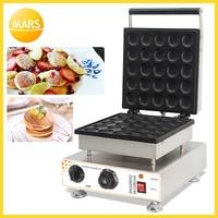MARS elektrikli Poffertjes makinesi ızgara Mini hollandalı Pan kek makinesi 220 v/110 v Mini krep makinesi aperatif ekipmanları|Waffle Makineleri|Ev Aletleri -