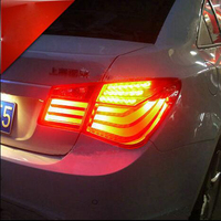 Car Styling Car Taillight 2009 2013 Led Free Ship 4pcs Car Fog Light Chrome Car Tail