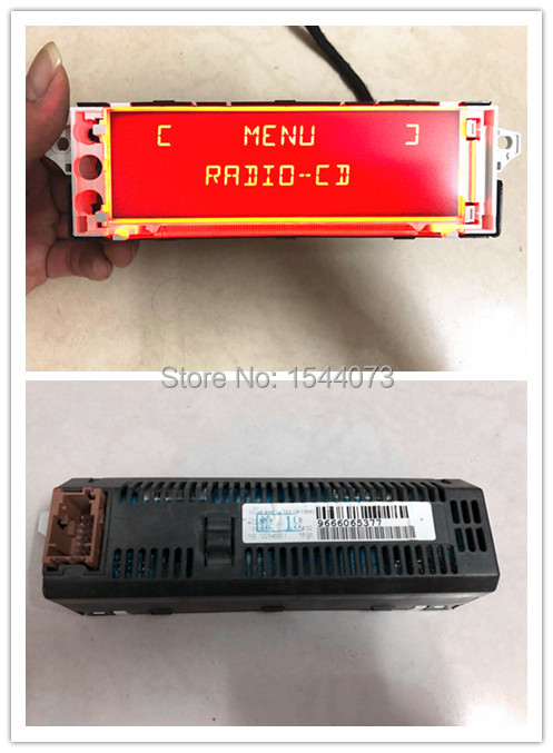 Original Screen Support USB Aux Display Monitor 12 Pin For Peugeot 307(Some Model) 408(Some Model) Screen Citroen C4