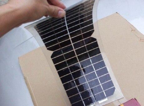 10w 18v Half Flexible Monocrystalline Solar Panel Very