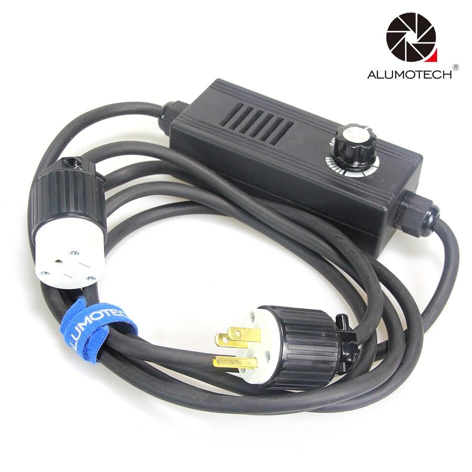 ALUMOTECH Professionnel Plug De Fresnel studio lumière Gradateur pour Up 150 w à 2000 w de gradation gamme 5%-95% adapte pour ARRI