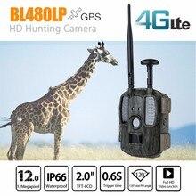 Kamera berburu terbaru permainan 4G BL480LP kamera jejak berburu keamanan dengan pemotretan foto kamera luar tahan air liar berburu cam