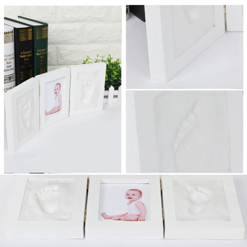 Ultimate SalePhoto-Frame Clay Inkpad Handprint Casting Baby Kids DIY Cute Parent-Child Soft Air-Drying