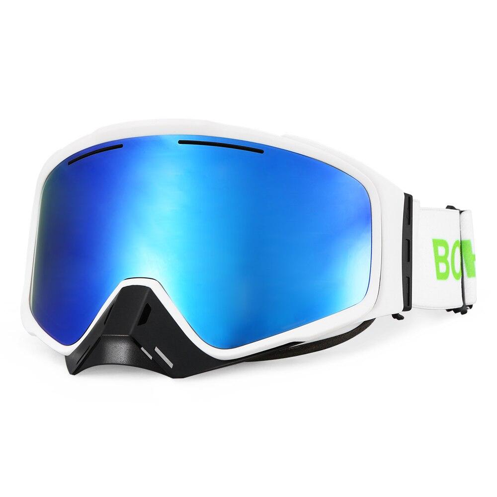 Lunettes de Ski masques hommes femmes Anti-buée lunettes de Ski lunettes UV400 Anti-buée lunettes de Snowboard lunettes de patinage Sports de neige