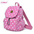 Qimiaobaby  Backpack Mummy Baby Diaper Nappy nurse Bags fashion multi function  Mom Maternity Mother travel handle bag 4 color