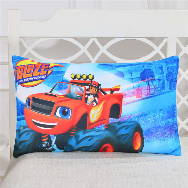 Best Sell Cartoon Pillow Case The Blaze And The Monster Machines