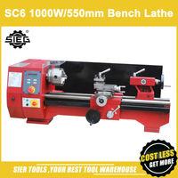 SC6 Bench Lathe/SIEG 550mm 1000W Industrial Motor Horizontal lathe