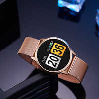 Newwear Q8 Q9 montre intelligente mode électronique hommes femmes étanche Sport Tracker Fitness Bracelet Smartwatch dispositif portable