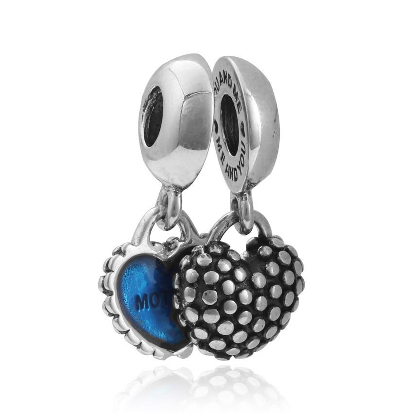 Kingdom Hearts Charm Bracelet: Fits Pandora Beads Silver 925 Original Bracelet Jewelry