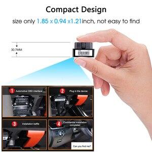 Image 4 - Concox OB22 プラグ & プレイ OBD 車の Gps トラッカー Gps 測位リアルタイム追跡プラグ警報複数アラームコンパクトサイズ