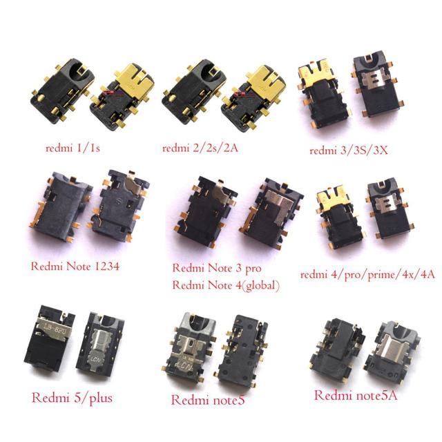 e545497ea3d Earphone Headphone Jack Audio flex For xiaomi Redmi 1S 2 2A 3 3S 3X 4 5 6  6A pro Redmi Note 1 2 3 4 5 /Mi A1 A2 pro prime lite-in ...