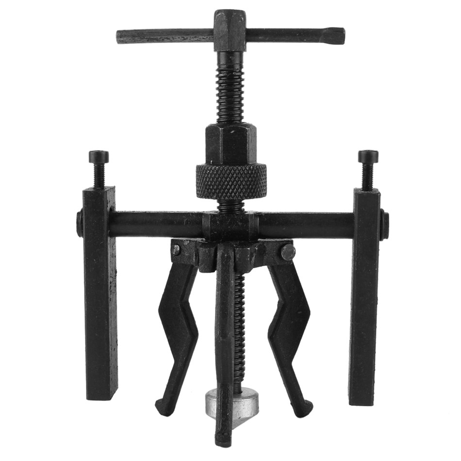 Car-Styling 3-Jaw Inner Bearing Puller Gear Extractor Heavy Duty Automotive Machine Tool Kit New winmax 6 gear puller 3 jaw set gear pulley bearing puller auto tool
