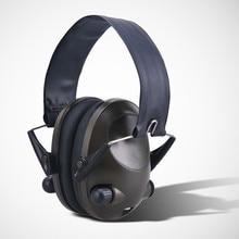 SORDIN Helmet fast rail bracket Silicone earmuff version Noise reduction pickup headset-FG tac-sky Shooting Earmuff Anti-noise