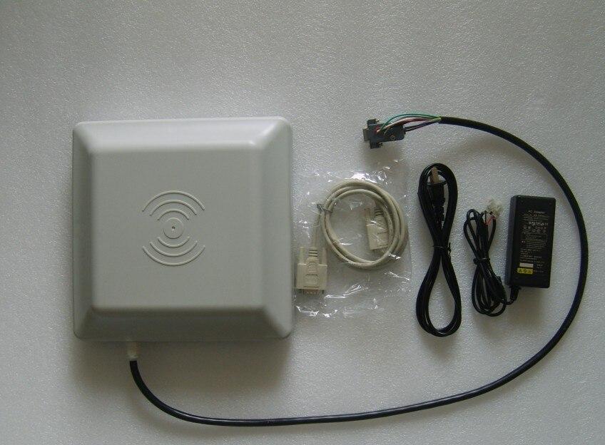 UHF RFID card reader 6m long range, 8dbi Antenna RS232/RS485/Wiegand Read 6M Integrative UHF RFID Reader new 8 10m long range reader uhf rfid reader