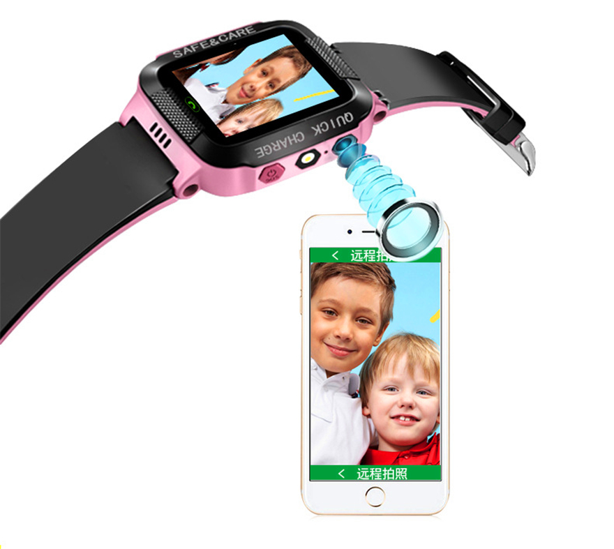 Smart Watch Kids Touch Screen GPS Positioning Children's Watches SOS Call Location Anti-Lost Reminder Baby Watch Children Clock 15
