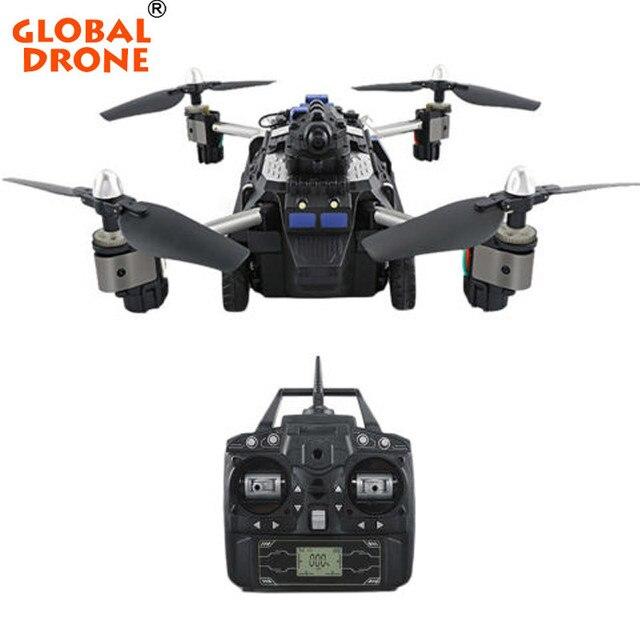 Globale Drone Selfie Faltbare Air Land Modus RC Quadcopter Auto Hubschrauber Spielzeug RTF Racing