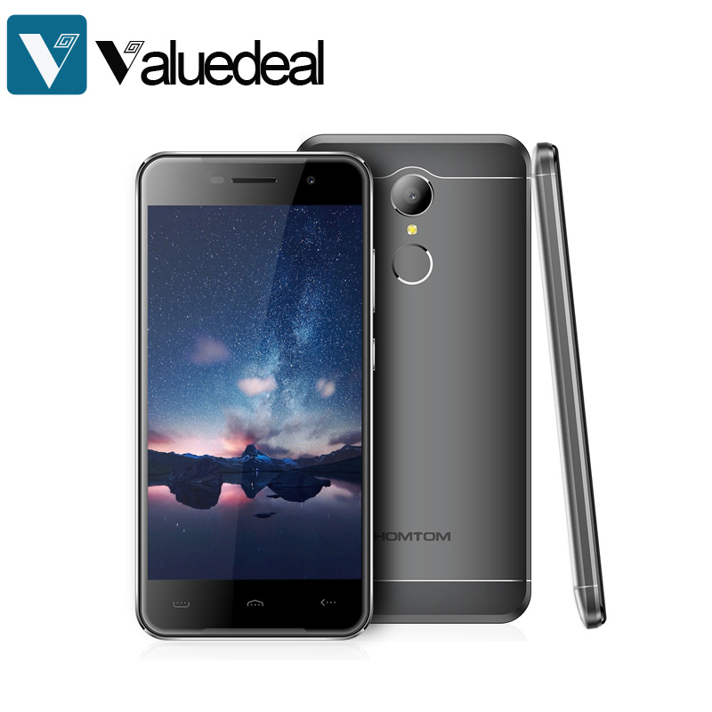 HOMTOM HT37 5.0 Inch HD 2.5D Screen 2GB RAM 16GB ROM 13.0MP Cam MT6580 Quad Core 1.3GHz Android 6.0 Smartphone