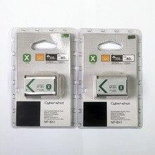 2 ชิ้น/ล็อต 1240mAh NP BX1 NP BX1 NPBX1 แบตเตอรี่สำหรับ Sony DSC RX1 RX100 M3 M2 RX1R GWP88 PJ240E AS15 WX350 WX300 HX300 HX400