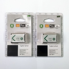 2 sztuk/partia 1240mAh NP BX1 NP BX1 NPBX1 bateria do sony DSC RX1 RX100 M3 M2 RX1R GWP88 PJ240E AS15 WX350 WX300 HX300 HX400