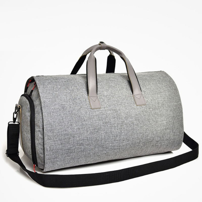 Men Business Trip Travel Duffel Bag Hanging Suit Bag Shoe Clothing Garment Case Big Capacity Organizer