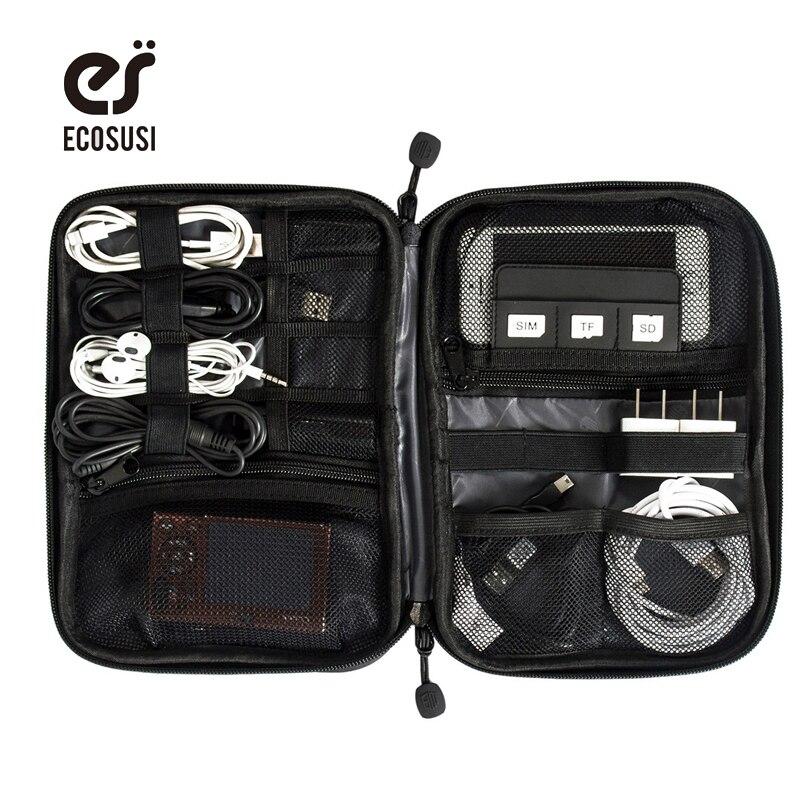 ECOSUSI Elektronisk Tillbehör Bag Nylon Mens Travel Tillbehör För - Resetillbehör - Foto 1