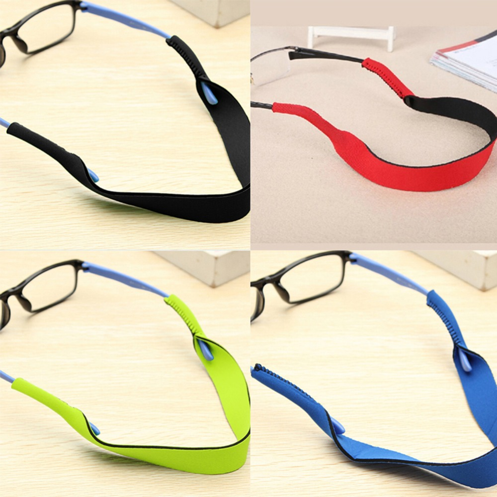 31c6189d4c 40.8cm Spectacle Glasses Anti Slip Strap Stretchy Neck Cord Outdoor Sports  Eyeglasses String Sunglass Rope Band Holder 4 Colors-in Accessories from  Apparel ...