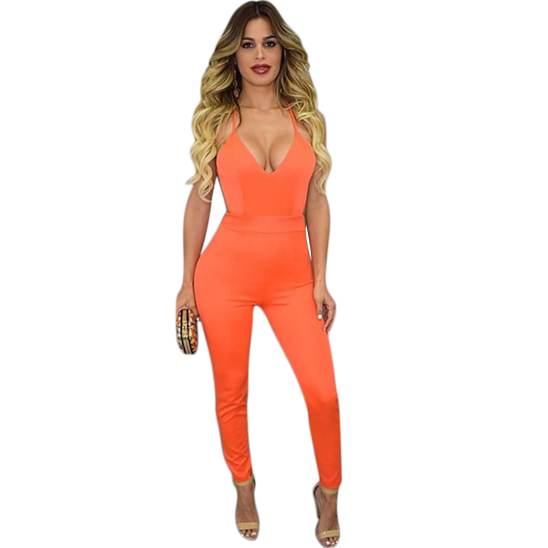 Compare Prices on Sexy Orange Jumpsuit- Online Shopping/Buy Low ...