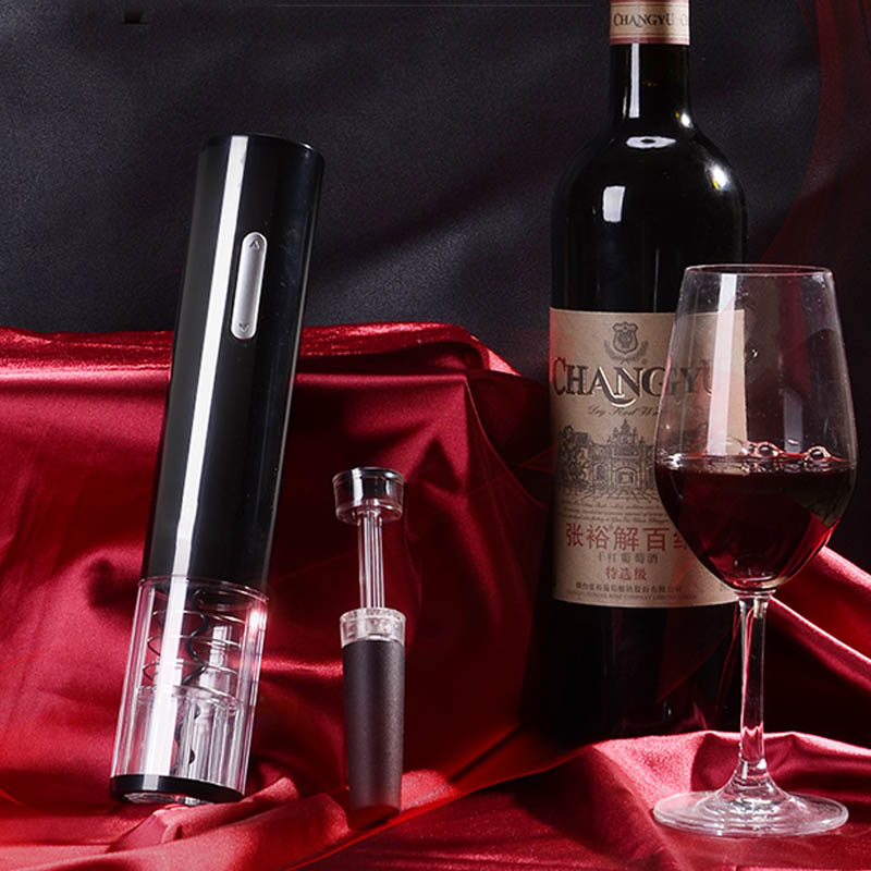 Automatic Electric Bottle Opener For Red Wine Bottles And Jar Opener Used as Kitchen Accessories