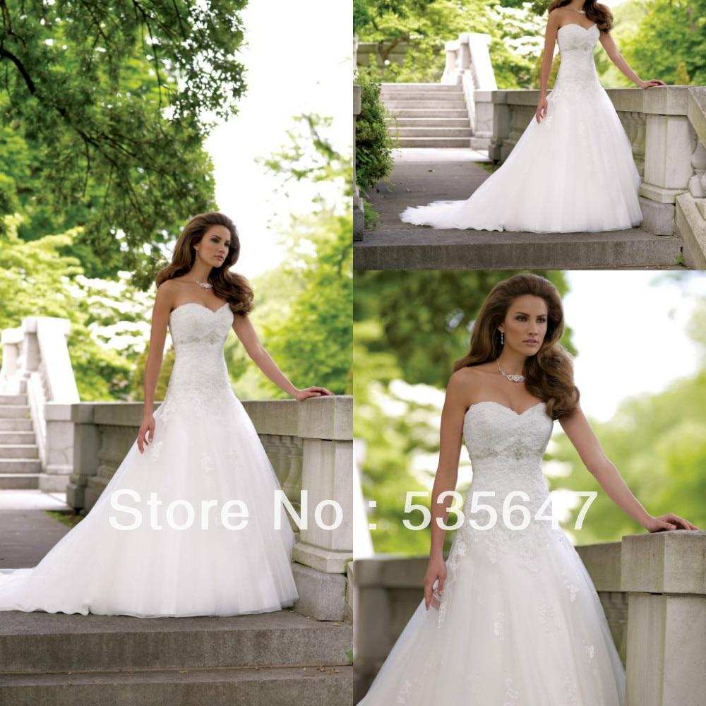 David Tutera A Line Organza Wedding Dress Lace Corset